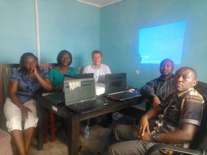 Het web team