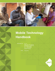Pact mobile technology handbook